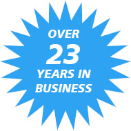 Over 23 years in business in the South Bay of Los Angeles