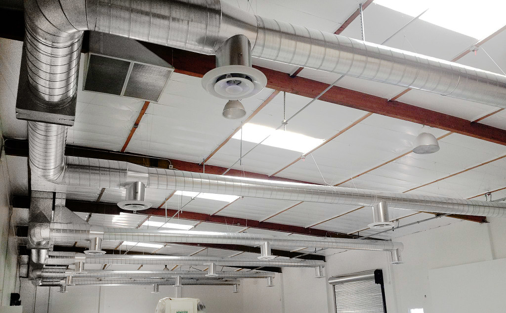 Commercial HVAC duct work in Redondo Beach